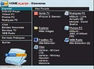 homeplayer gratuitement